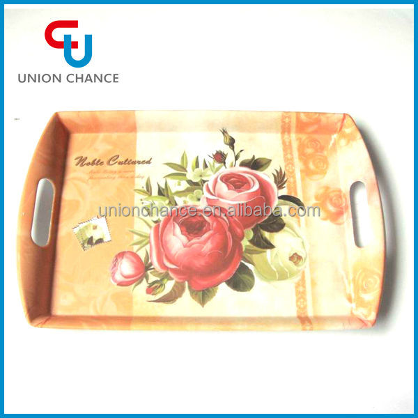 Square Melamine Serving Tray