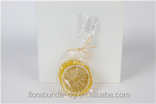 Flora Bunda Simulation sliced lemon lime Fake fruit slice for party decoration