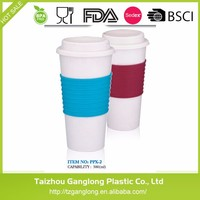 2016 New 16 oz Plastic Coffee Cup Plastic Tritan Water Bottle