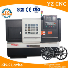 WRC26 Alloy Wheel Repair Diamond Cutting CNC Lathe Turning Rim Machine