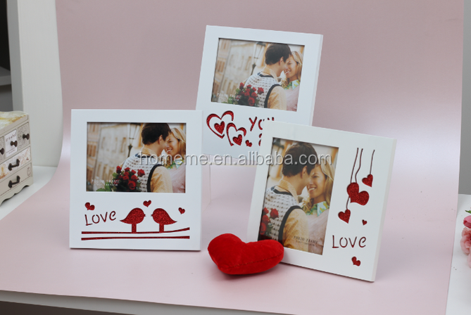 wood photo frame with love made in Ningbo