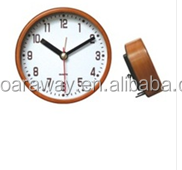 wooden table clock decorative promotional desk clock