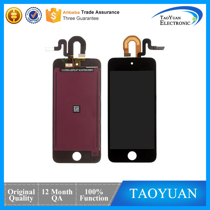 Taoyuan High QualityFor iPod Touch 5th LCD Digitizer,iTouch Screen For iPod 5th Generation screen Replacement Home Button