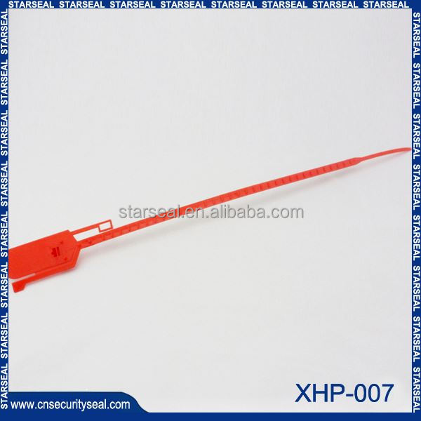 XHP-007 plastic security tags seal / electric meter security seal / electric meter seal