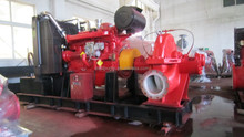 Diesel Fire Pump Large Flow Fire Fighting Water Pump Centrifugal Pump CE Certified High Quality at Competitive Price
