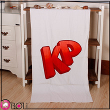 100% cotton velour reactive printing beach towel material