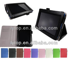 stand smart cover for scer b1,leather case for acer b1-a710