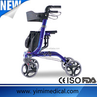 Health folding rollator with brake aid product