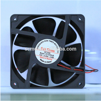 low noise 12025mm electrical brushless 12v dc motor cooling fan