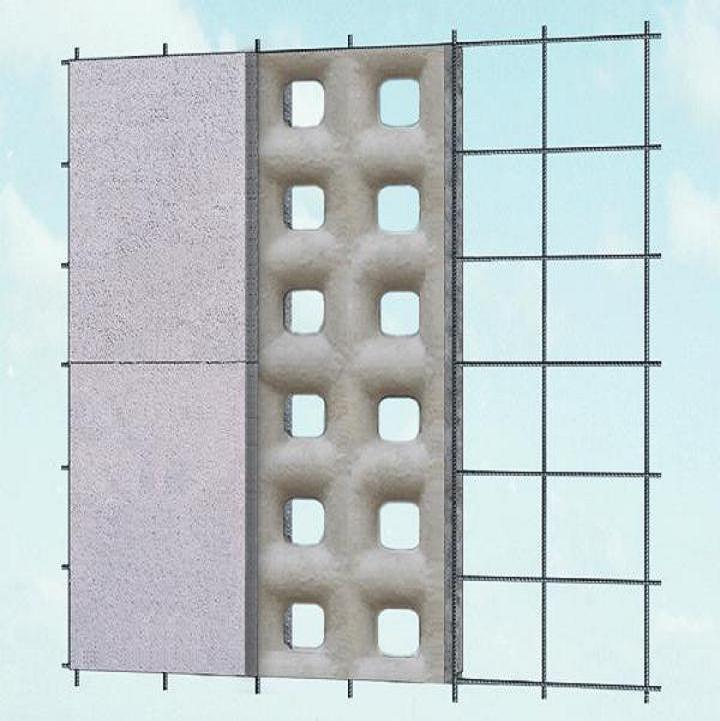 The strongest structure icf block made of eps and cement for Best icf block