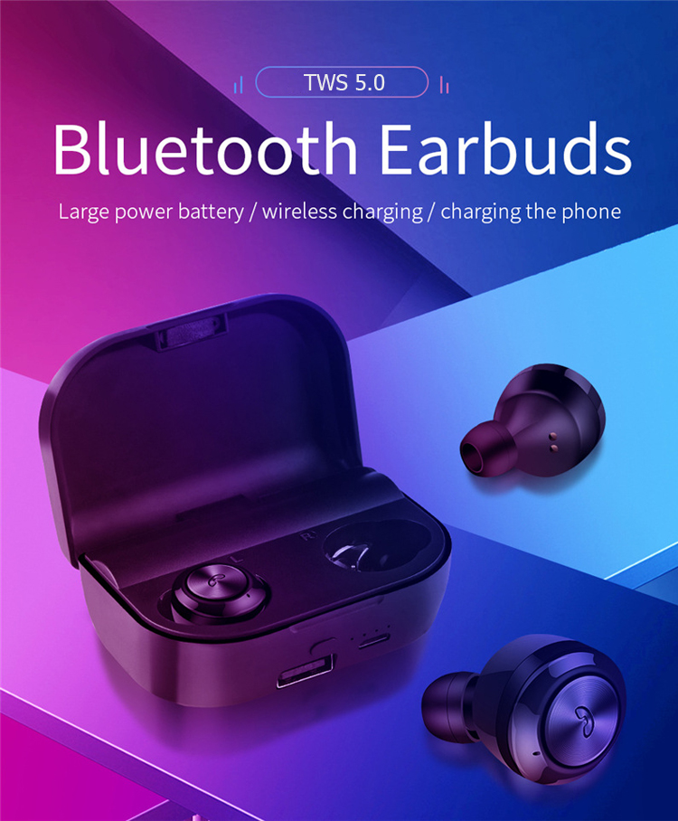 In-ear stereo sound mini portable sports wireless Bluetooths headset