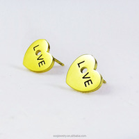 SE0822005 Classical Designs Stainless Steel Butterfly New Fashion Women 18K Rose Earrings