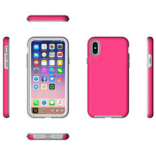 2 in 1 pc tpu Skidproof mobile phone case for huawei P10, candy color two parts for huawei P10 plus