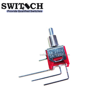 3 Way Small Right Angle Terminal Toggle Switch