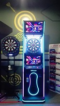 VS archery dart scoring machine with advertising function