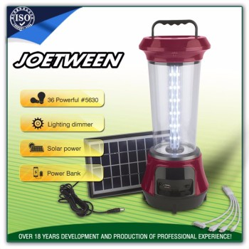 Lead-acid battery led light rechargeable led solar emergency camping light