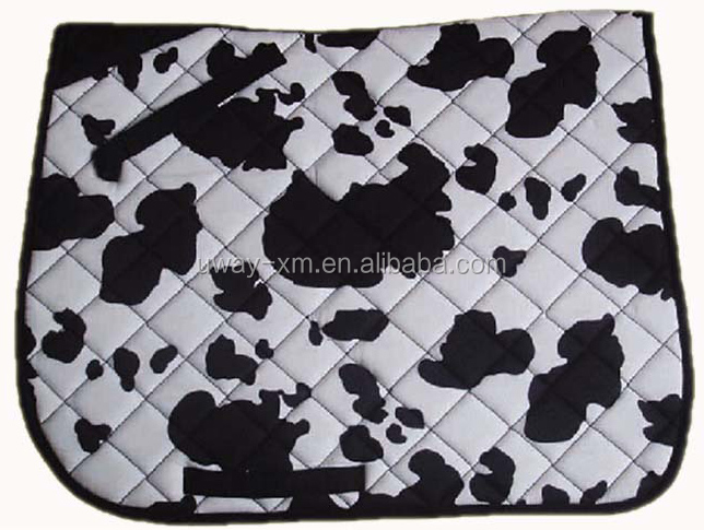 Horse riding saddle pad