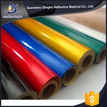 PVC Micro Prisma Gold Supplier China Eco-Solvent Ink Use Light Reflective Film