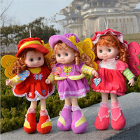 Wholesale mini cute plush dolls/beautiful plush doll for girl/funny plush toys