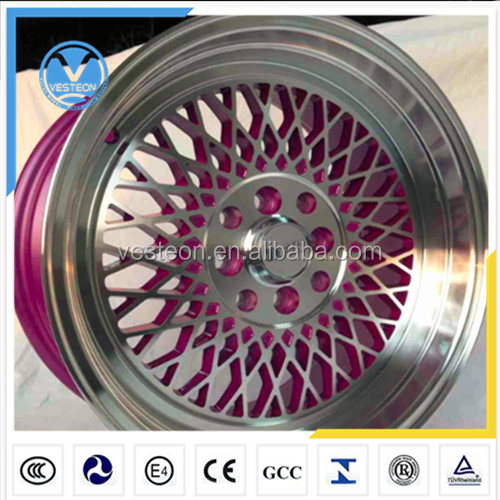 China rims supplier deep dish alloy wheels 14-19 INCH
