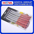 6PC Wooden Handle Steak Knife