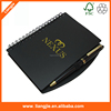 High quality notebook, coil notebooks, Hot-Stamp notebook