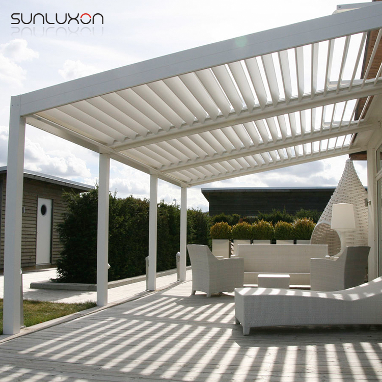 Automatic Louvered Pergola Waterproof Pergola Covers For Canopy - Buy  Louvered Pergola,Waterproof Pergola Covers,Aluminium Louvered Roof Product  on Alibaba. ... - Automatic Louvered Pergola Waterproof Pergola Covers For Canopy