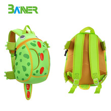 New cute cartoon kids school bags neoprene children backpack