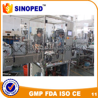 Vial Bottle Liquid Filling and Rubber Capping Machine