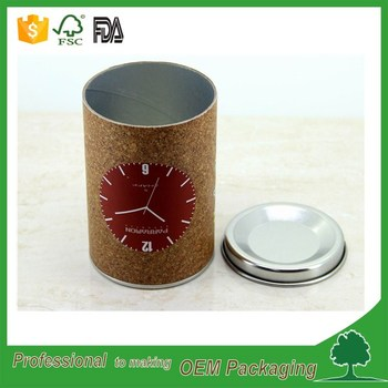 FDA herbal packaging custom printed paper tube wholesale manufacturer dog foods packaging tube