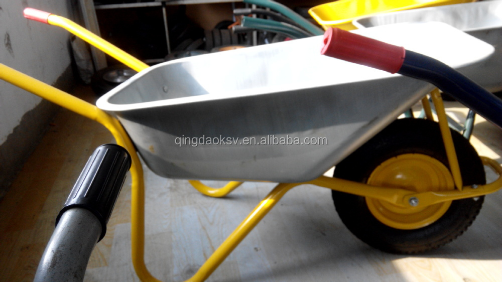 Made in China Galvanized Wheelbarrow WB6404H