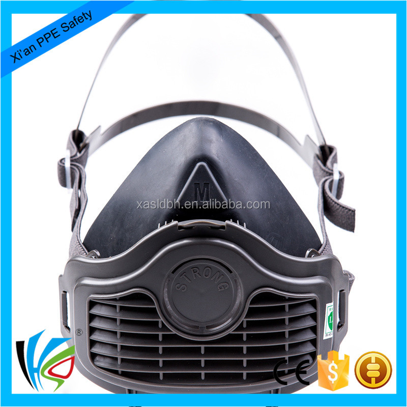 4 layers filter 1060 half face dust mask , profective mask , rubber dust respirator