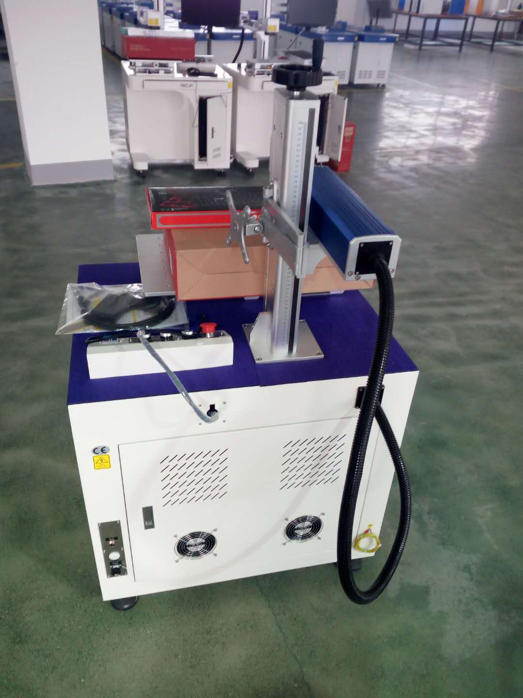 Good quality fiber laser marking machine portable laser marking machine for sale