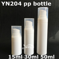 cosmetic airless bottle, lotion bottle