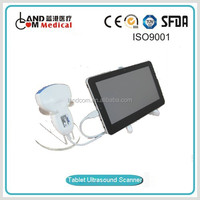 Tablet ultrasound scanner with CE