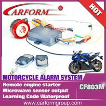 CF803M meritorious electronic motorcycle alarm system