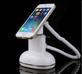 Charging desk mounted mobile phone alarm security display stand for cell phone retailer digital shop