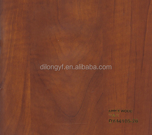 Wood grain mdf panel pvc film for membrane press