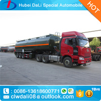 Chemical Liquid Tank Semi Trailer with High Quality Material Q235B Manufacture from china