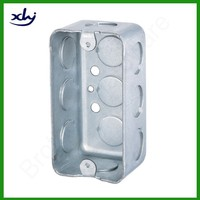 Galvanized steel handy box utility box 1-7/8 deep electric junction box