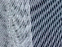 30D HEXAGONAL POLYESTER TULLE FABRIC