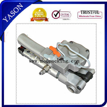 Pneumatic PET/PLASTIC Friction Welding Strapping Tools(Tension >=3500N),PP& PET Strapping Bander suitable for 13-19MM