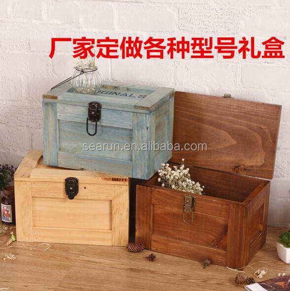 Professional factory supply Original wooden box for gifts with good price wood box