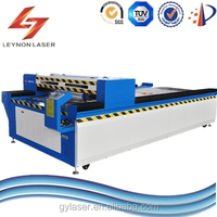 Leynon 300Watts mental and nonmetal mixed laser cutting machine for organic glass