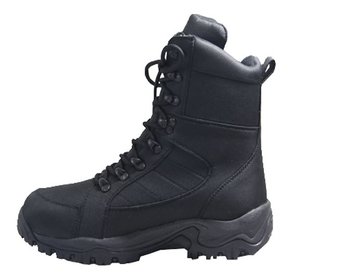 Men Oxford Lace Up Military Boots