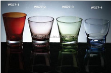 Custom Glassware Manufacturer polycarbonate drinking glass
