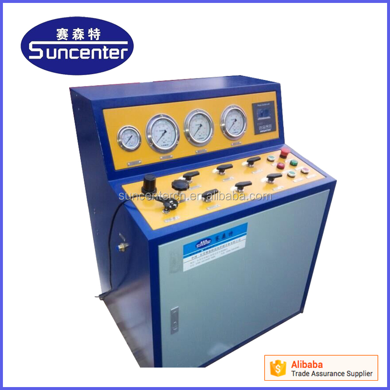 SUNCENTER 10 bar -6000 bar oil well heads hydrostatic pressure testing equipment