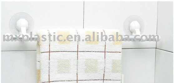 powerful white Aluminium Towel rack for Ceramic tile