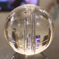 Clear Crystal Sphere Ball Glass Ball