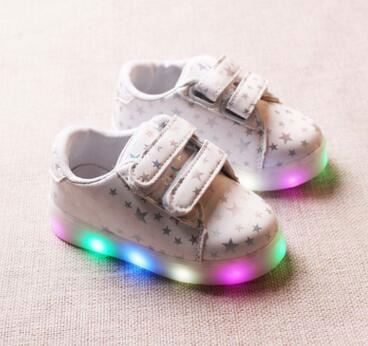 Cute skid shoes full of stars